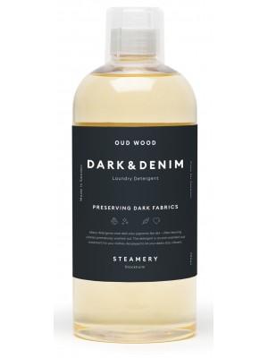 Dark & Denim Laundry Detergent,  Oud & Wood, 750ml, Steamery